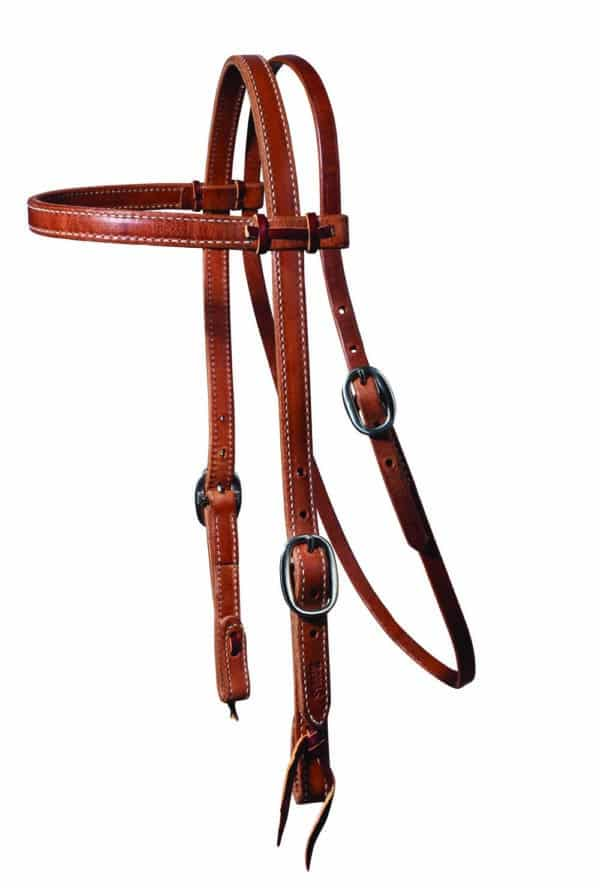 Heavy Laced Browband Headstall – PC Schutz