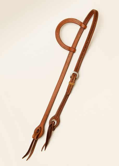 Dennis Moreland Stamped Slide Ear Headstall