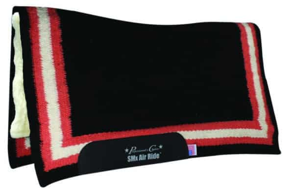 Comfort-Fit SMx H.D. Air Ride Western Pad – Border Pattern