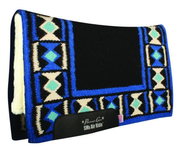 Comfort-Fit SMx H.D. Air Ride Western Pad – Hourglass Pattern