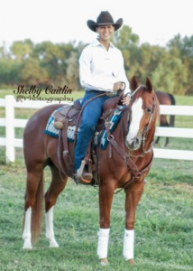 Marilyn Brandt on a Horse