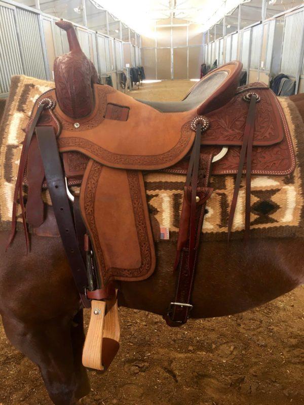 al-dunning-oak-leaf-ranch-cutter-saddle-1